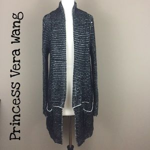 Princess Vera Wang Drape Cardigan Size Large